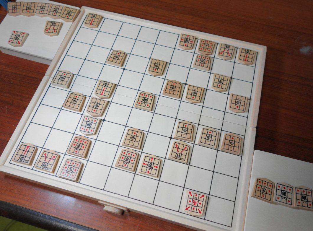スタディ将棋で遊ぶ様子