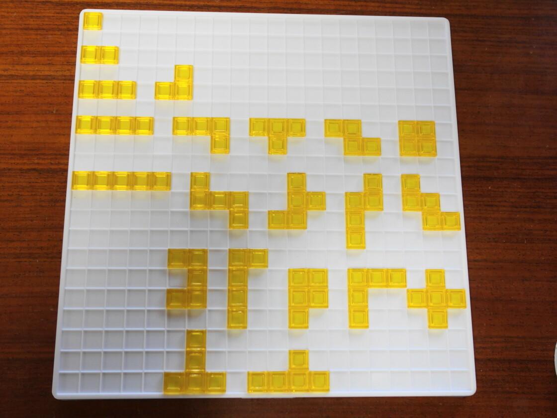 ブロックスの黄色ピース