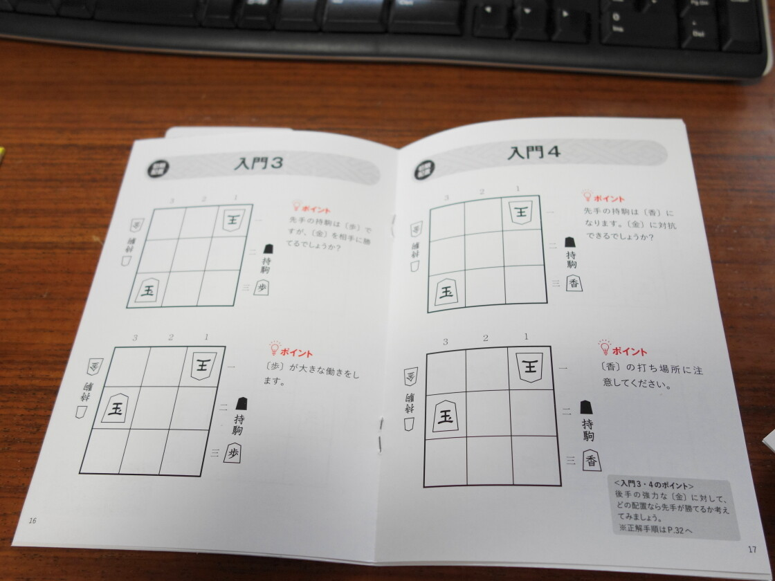 9マス将棋本体の遊び方ガイドに書かれた初期配置