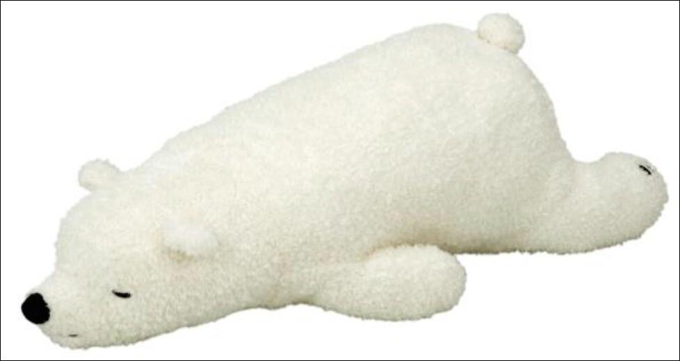 ねむねむの白クマ