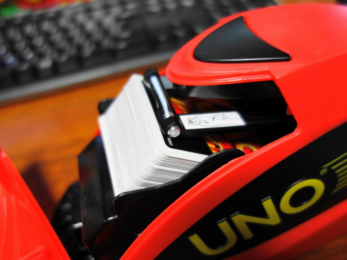 カードシューターのカード挿入部