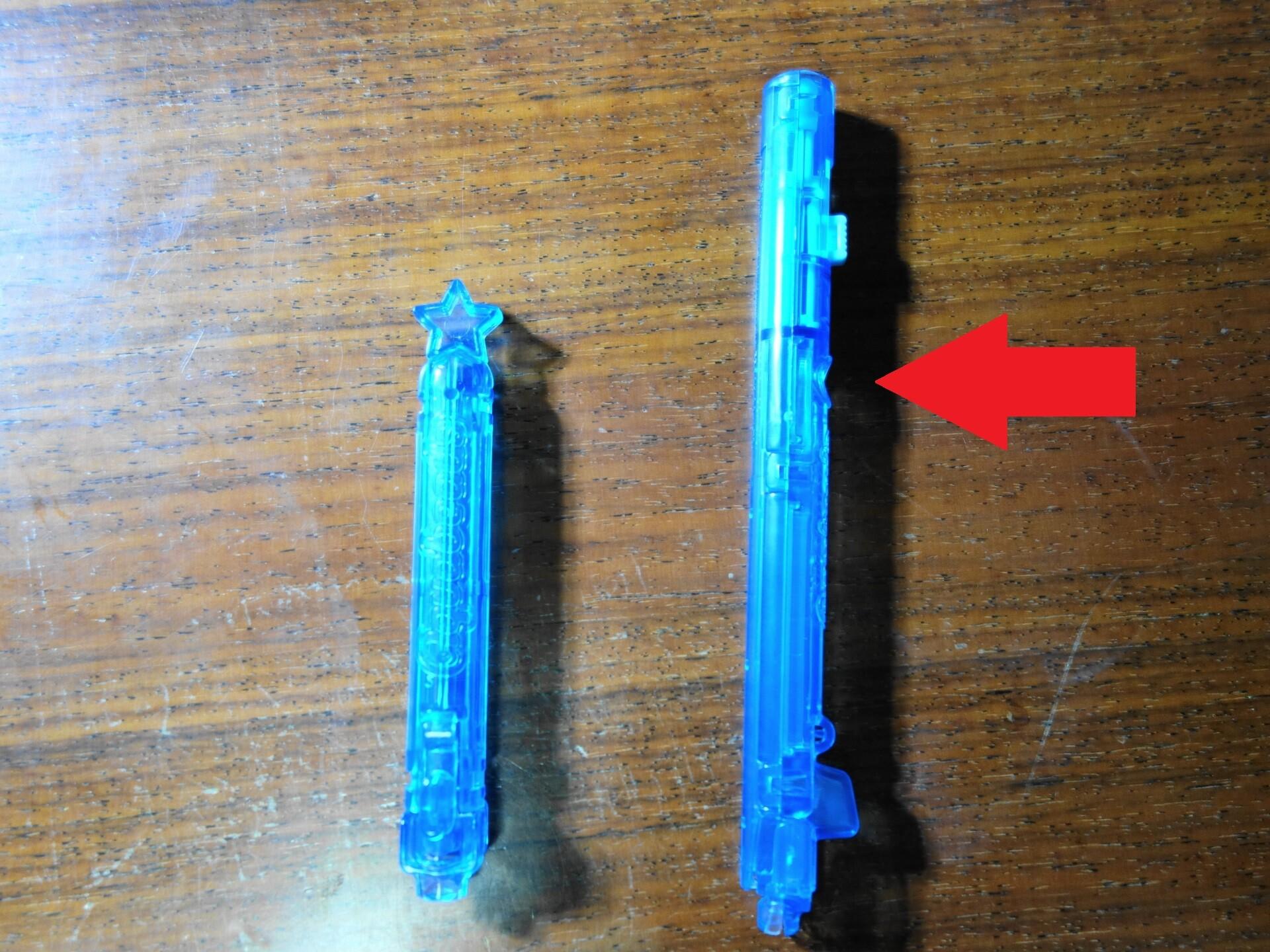 アクアビーズの新型ペン
