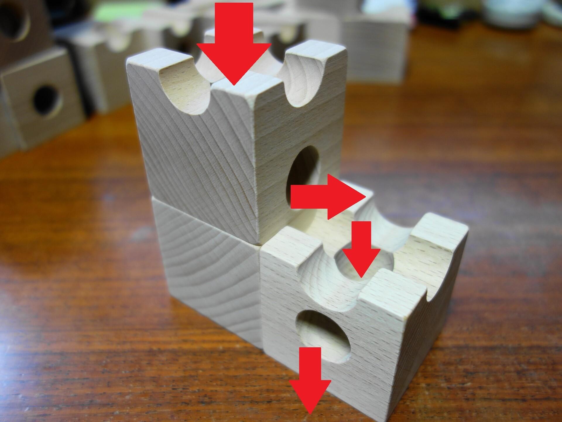 キュボロの玉の基本動作