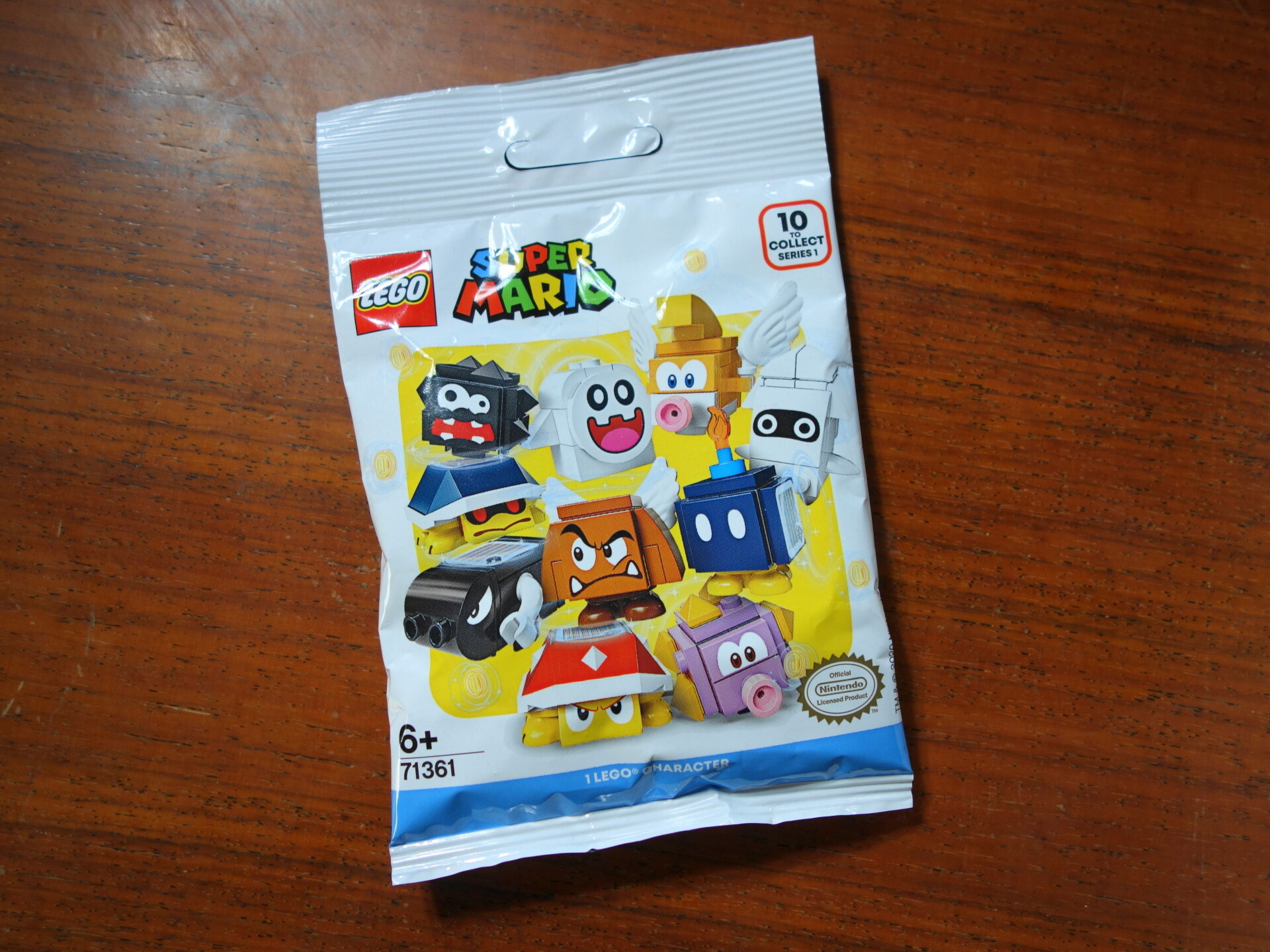 レゴマリオのキャラクターパック